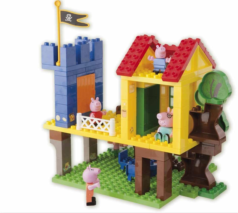 Peppa Pig - Casa del Arbol (Simba) 4384858: Amazon.es: Juguetes y juegos