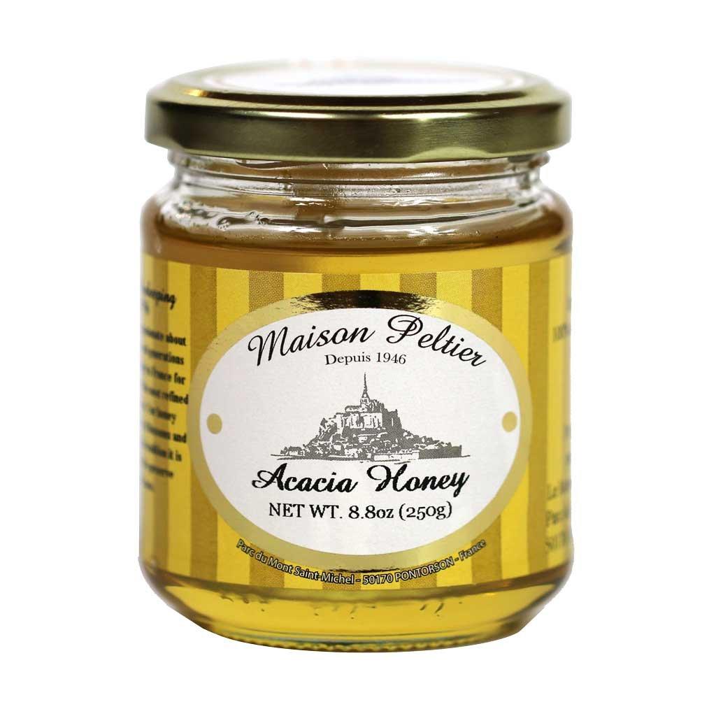 Maison Peltier, 100% Unpasteurized French Raw Acacia Honey, 250g (8.8oz) Jar
