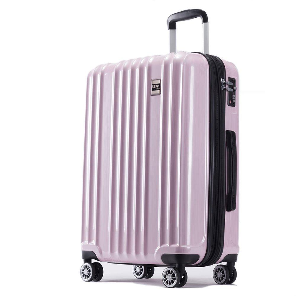 AKTIVA スーツケース 軽量 ファスナー TSAロック搭載ハードケース B075TF7QJW 大型、Lサイズ|ブラッシュピンク ブラッシュピンク 大型、Lサイズ