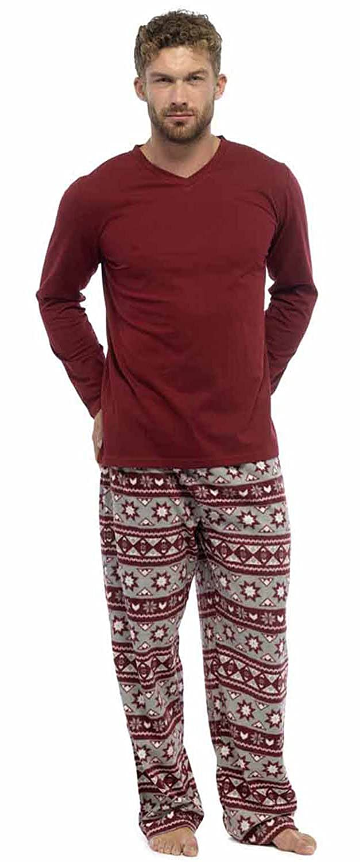 Uomo Caldo Maglione & Pantaloni In Pile pigiama abbigliamento da notte pigiama abbigliamento casual Foxbury