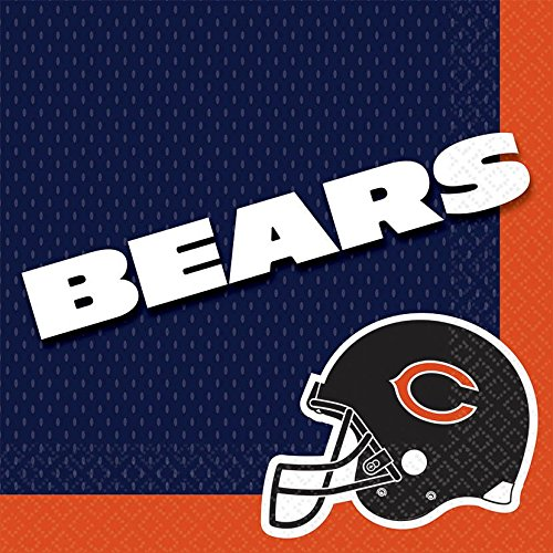 NFL Chicago Bears Luncheon Napkins (16