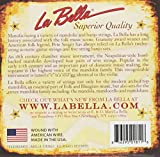 LaBella 770L Stainless Steel Mandolin Strings, Light