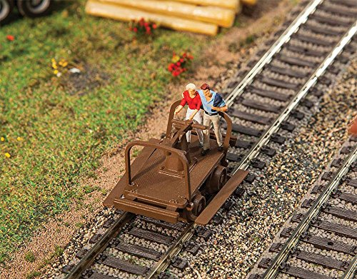 Walthers HO Scale Model Railroad Scenery Kit Handcars Kit (Walthers Scenery)