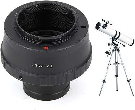 Pokerty Anillo Adaptador para telescopio, portátil T2-M4/3 Metal ...