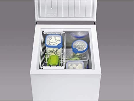 Zanussi ZFC14400WA Arcón congelador Ecotech+, 66 cm, 1 cesto ...