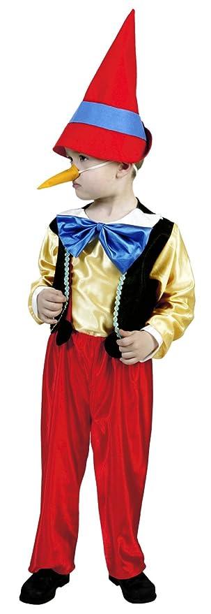 Disfraz de Pinocho 1-2 años: Amazon.es: Ropa y accesorios