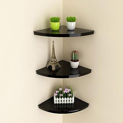 Amazon.com: HQCC DIY Corner Wall Rack Living Room Bedroom ...