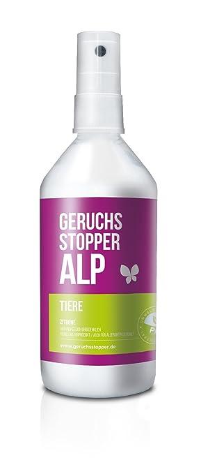 ALP olor Tope 215 ml Vaporizador – Limón Ámbito de aplicación Animales olores