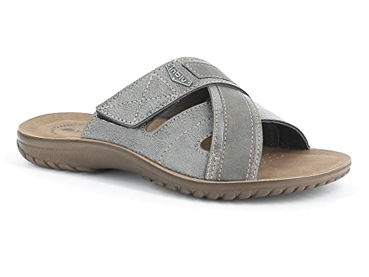 INBLU - Zapatillas de estar por casa para hombre gris Size: 40 0Sy6zI4Zp