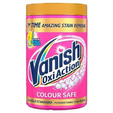 Vanish rosa quitamanchas polvo 1410 G: Amazon.es: Salud y ...