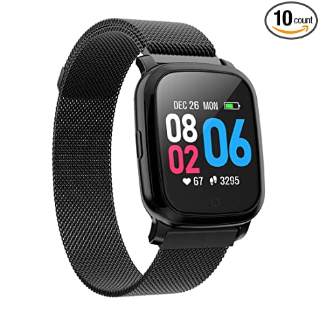 Amazon.com : Smart Watch, Vithconl CV06 Heart Rate Blood ...
