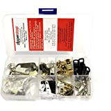 ZipperStop Wholesale - YKK Zipper Repair Kit Solution pack in Easy Container Storage W/HANGER Made in USA Option Clothing or Outdoor (Clothing - Zipper Repair Kit Solution)