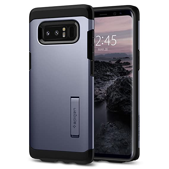 separation shoes 2836a 16375 Spigen Tough Armor Designed for Samsung Galaxy Note 8 Case (2017) - Orchid  Gray