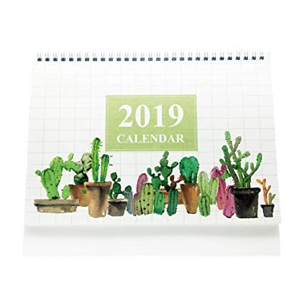 Calendars, Planners & Cards 1 Pcs Cute 2019 Year Calendar Scenic Landscape Schedule Table Standing Calendar Desk Calendar Planner Calendar Stationery Durable In Use
