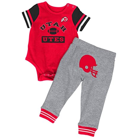 fda46c79a Colosseum Baby Boys' MVP University of Utah Utes Bodysuit and Pant Set (0-