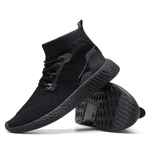 STRIR Zapatillas Deporte Hombres Deporte Running Zapatos para Correr Gimnasio Sneakers Deportivas Padel Transpirables Casual 38.5
