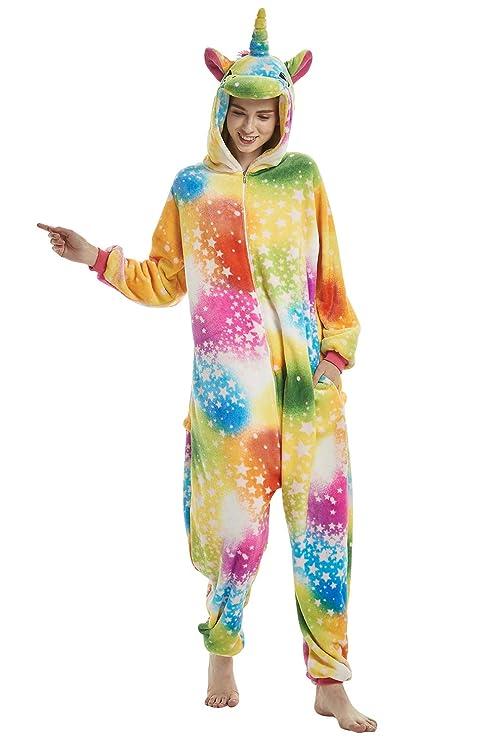a8a7810007 Dolamen Adulto Unisexo Onesies Kigurumi Pijamas