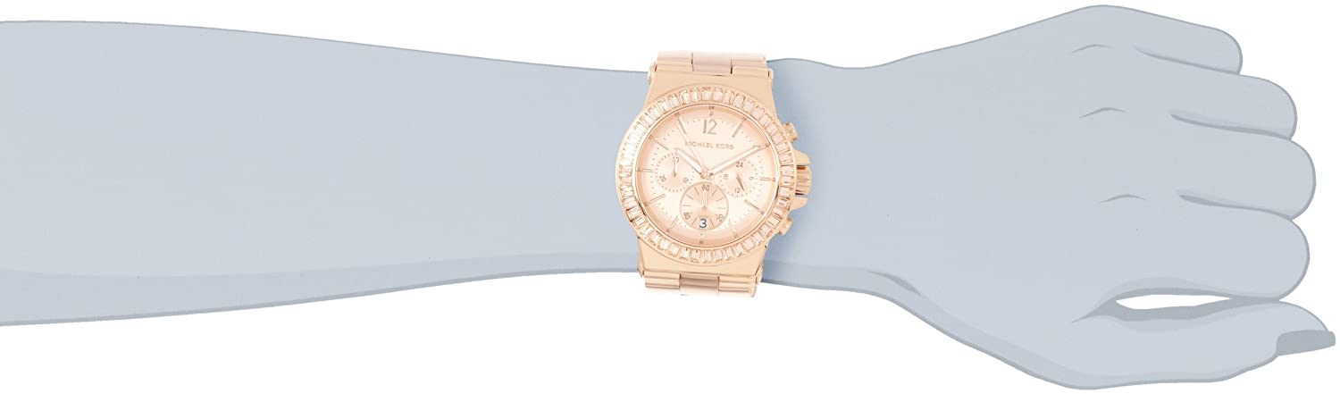 Amazon.com: Michael Kors Womens MK5412 Dylan Rose-Tone Watch: Michael Kors: Watches