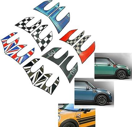 HDX Vinilo Adhesivo para Guardabarros de secci/ón Lateral con patr/ón de l/ámpara para Mini Cooper One S JCW F55 Hardtop F56 Hatchback