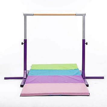 ZHANG Childrens Horizontal Bar Gymnastics Bar Pink