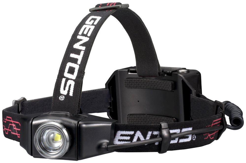 GENTOS (Jentosu) headlight 003RG [Brightness 500 lumens / practical lit 12 hours] GH-003RG