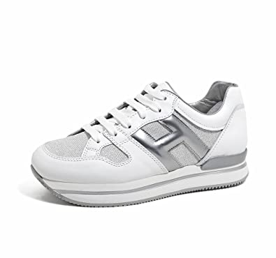 Hogan Scarpe Donna HXW2220U352I840906 H222 Nuovo Sport PE18  Amazon.co.uk   Shoes   Bags e89889e70bd