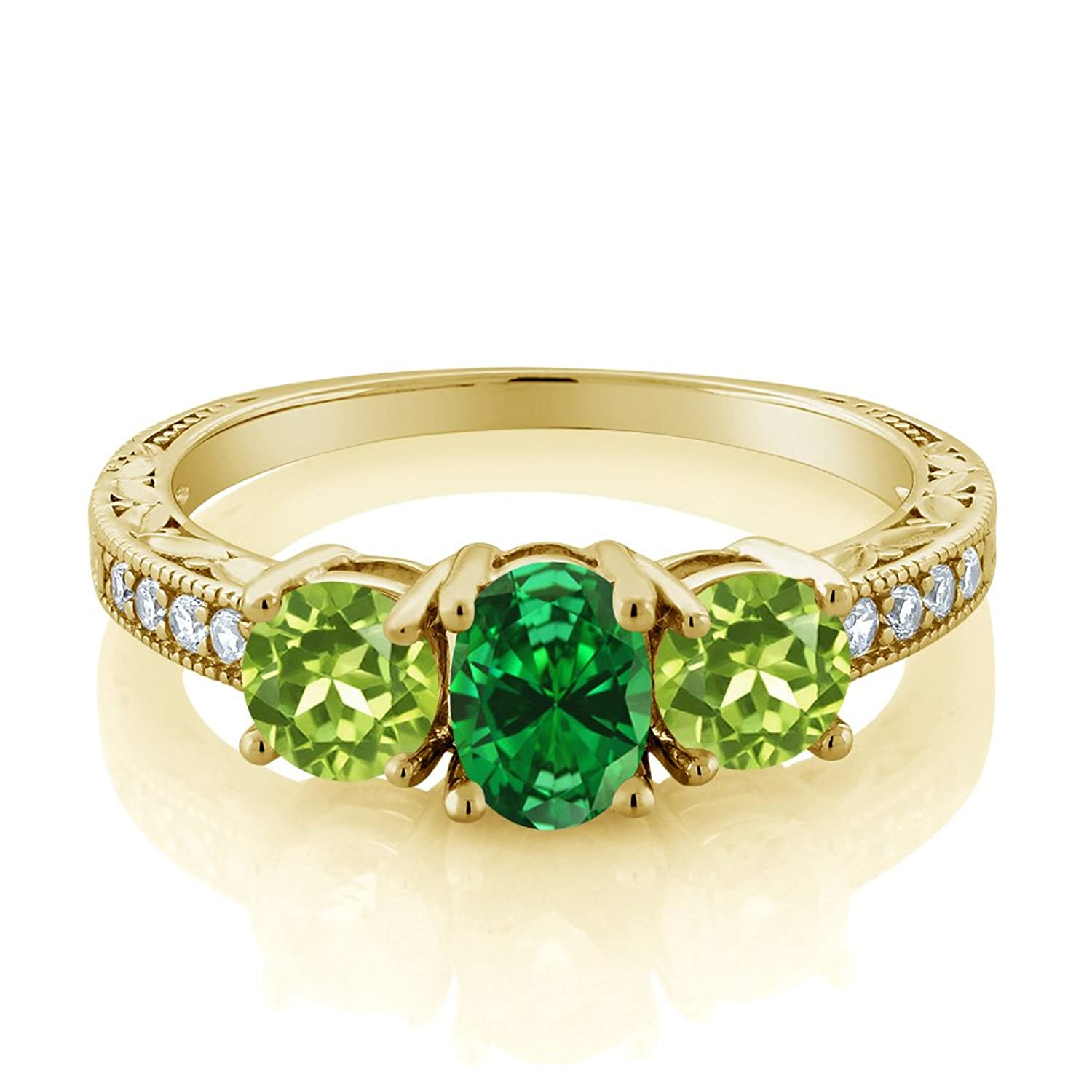 cuff treated the michael emerald and youssoufian set pin cabochon oval heat diamond band circular wide with