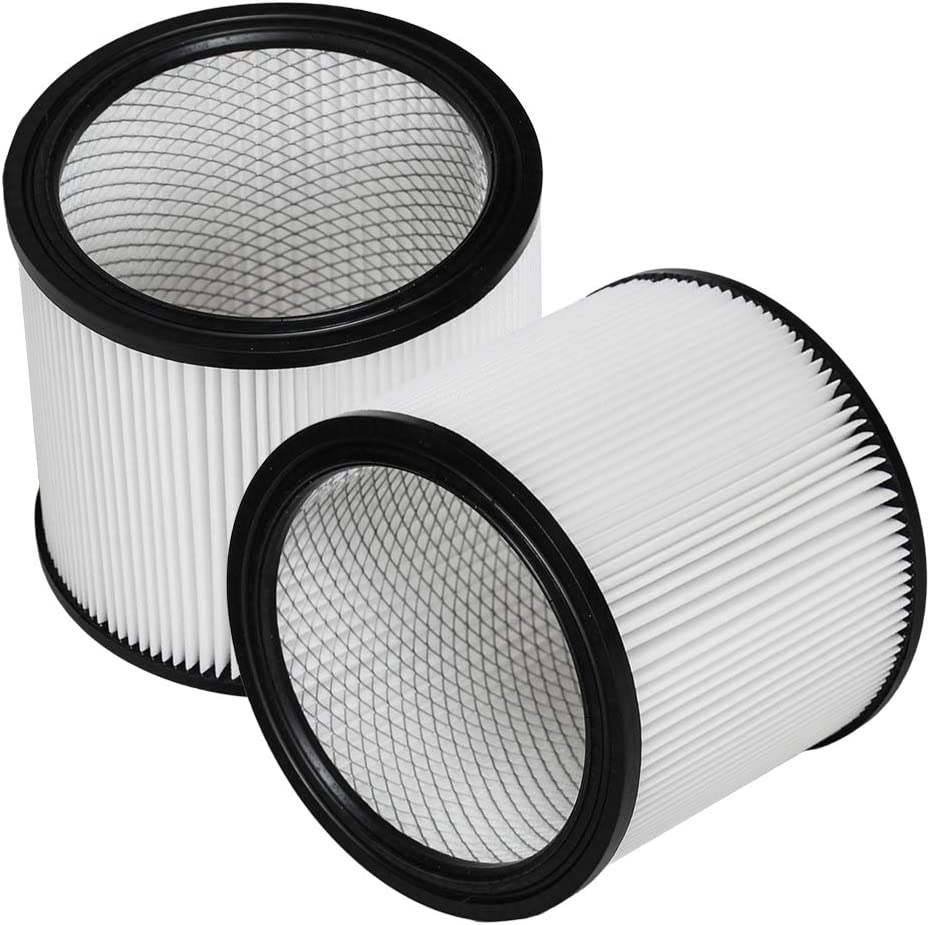 HIFROM Replacement Cartridge Filter Replacement for Shop-Vac 90304 9030400 903-04-00 903-04 Replacement Vacuum Cleaner Filter (2 Pcs)