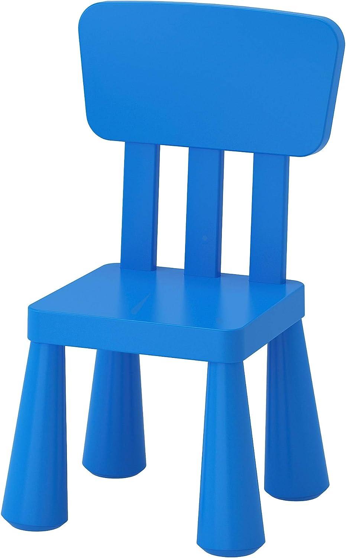 Ikea Mammut Children's Chair Children's Chair, in/Outdoor, Blue
