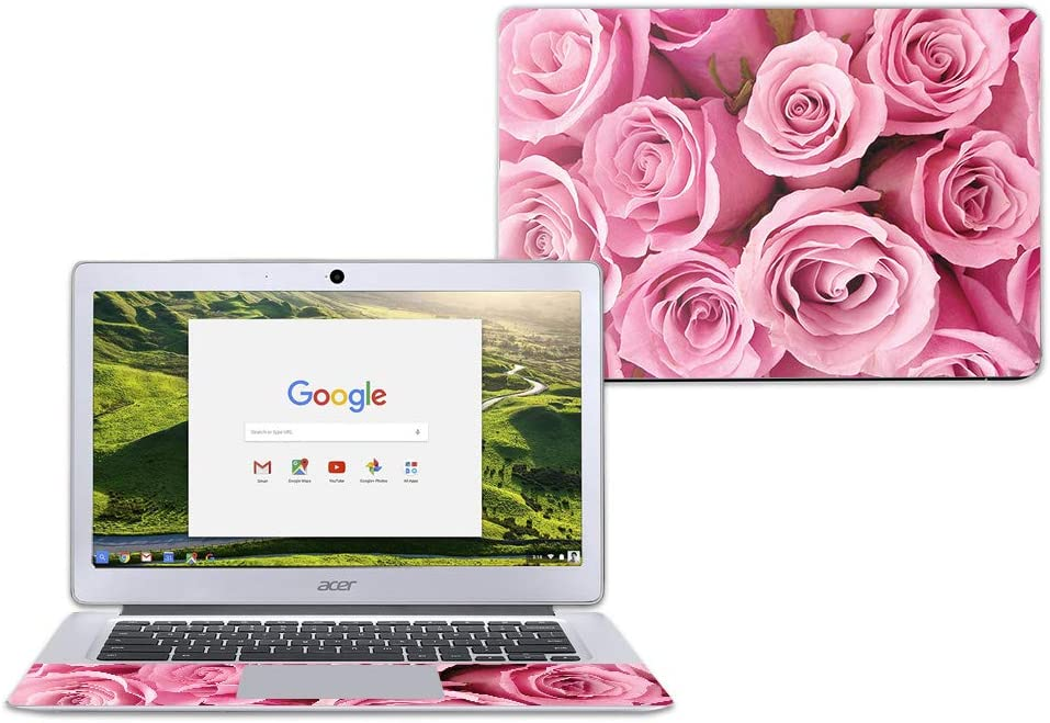 """MightySkins Skin Compatible with Acer Chromebook 14"""" CB3-431 - Pink Roses 