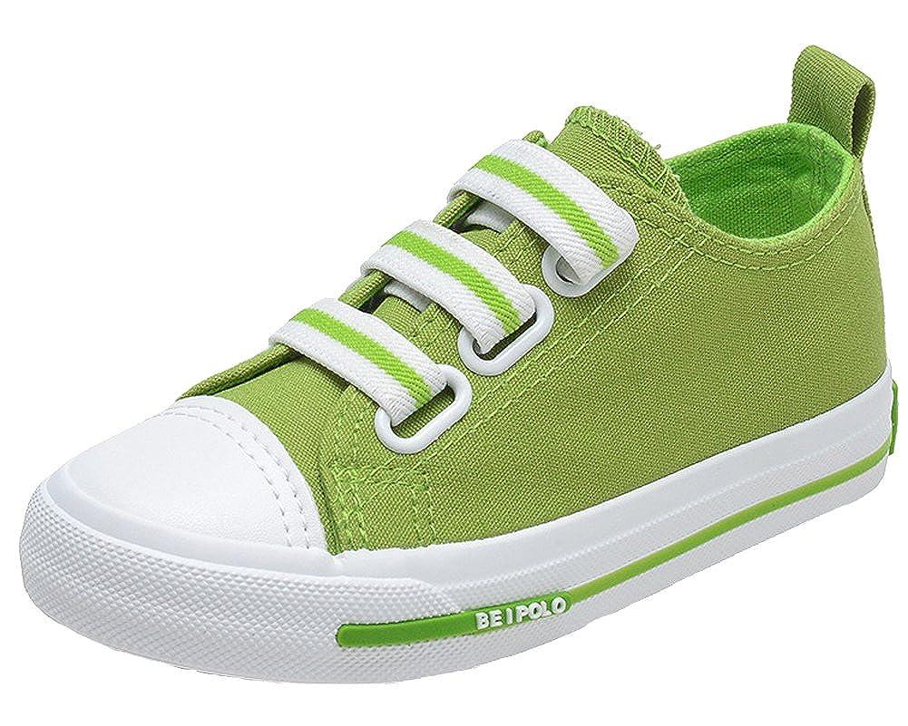 Unisex Kids Soft Toe Casual Shoes 5 Color Low Top Canvas Fashion Sneaker
