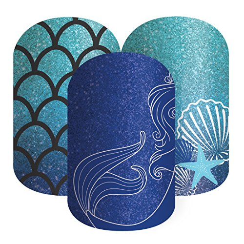 Jamberry Nail Wrap Disney Collection By Jamberry Sapphire Sea Half ()