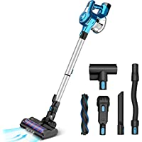 INSE Cordless Vacuum Cleaner, 23KPa Powerful Suction Stick Vacuums, Handheld Bed Vac Rechargeable 2500mAh for Pet Hair…