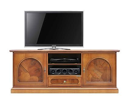 Arteferretto Mobile TV Classico Orizzontale con radica: Amazon.it ...