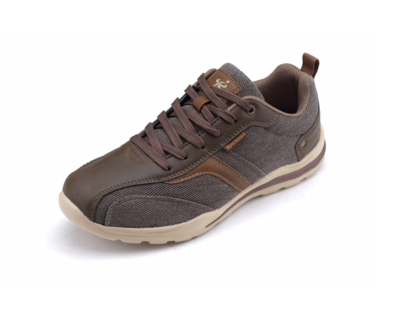 runs kings New Light Weight Go Easy Walking Casual Men Sneakers (R6125) 12 D(M) US|Brown
