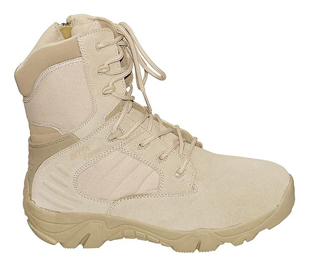 Commando Industries MCA Tactical Boots Delta Force Outdoort Stiefel Einsatzstiefel Schwarz oder Beige Gr. 38-47