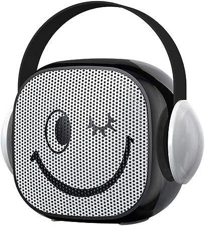 DFGB-YX Altavoz Bluetooth inalámbrico de Alto Volumen Mini pequeña computadora de Sonido Cañón de Graves al Aire Libre Teléfono móvil Tarjeta portátil Emisor: Amazon.es: Hogar