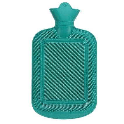 Bolsa de agua caliente de caucho clásico de primera calidad, botellas de agua para el invierno que se calientan a mano, ideales para aliviar el dolor, ...