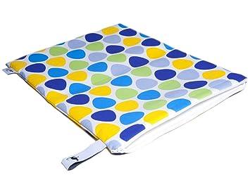 Mon Petit Bleu 5901323929823 Multiusos Bolsa - multifunción de bolsillo - a menudo utilizable, lavable, resistente al agua e incluso alimentos seguros ...