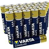 Varta 4103301124 Longlife Batteria Alcalina, Ministilo AAA LR03, Confezione da 24 Pile Big Box Confezione risparmio - il design può variare