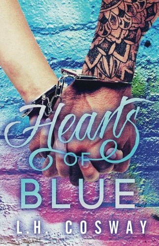 Hearts Blue L H Cosway