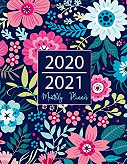 Amazon.com: 2020-2021 Monthly Planner: Marble Cover | 2 Year ...