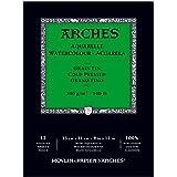 """Canson Arches Cold Press Watercolor Pad, 9""""X12"""""""