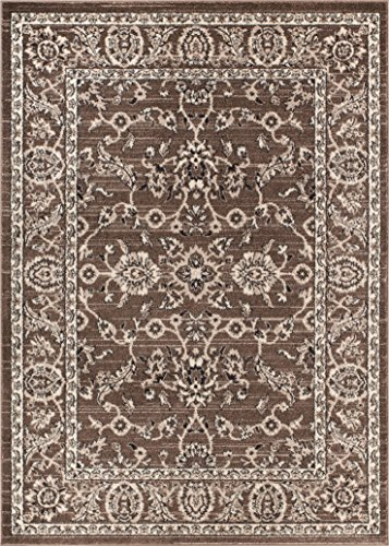 Well Woven Barton Beige Sarouk Vintage Modern Casual Traditional 5x7 (5'3 x 7'3) Area Rug Thick Soft Plush Shed - Decor Casual