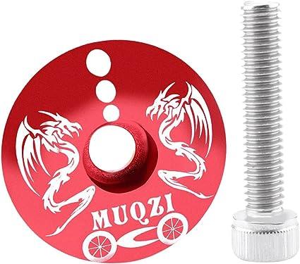 MTB Fahrrad Ahead Headset Steuersatz Headset Top Kappe Abdeckung Aluminium