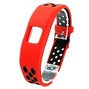 Runtenic Correa de Reemplazo para Garmin Vivofit 4, Smartwatch Recambio Muñeca Reemplazo Correa para Garmin Vivofit Fitness Activity Tracker