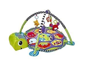 Biancheria Store Tappeto Palestrina Box Neonato Bambini a Forma di Tartaruga con Palline Incluse