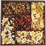 The Deluxe 5-Variety Trail Mix Sampler, Fruit and Nuts Gift Tray, Perfect as a Thank You Gift or for Any Occasion, Small-Batch Kettle Roasted For Superior Freshness, Nuts Never Tasted This Good