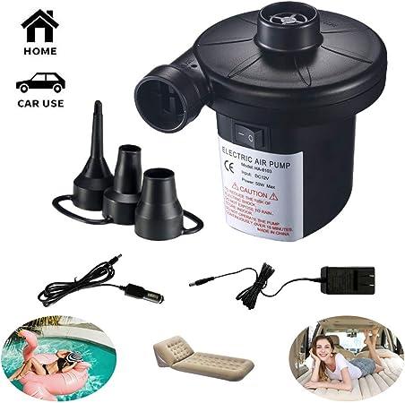 Amazon.com: Camebust bomba de aire para inflables portátil ...