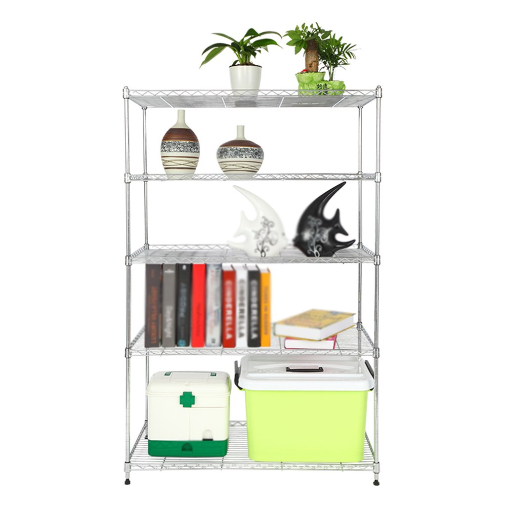 Amazon.com: Standing Shelf Units 5 Layers Kitchen Shelves Microwave Oven Rack Floor Pot Rack Kitchen Supplies Storage Rack (Size : 8025180cm): Kitchen & ...